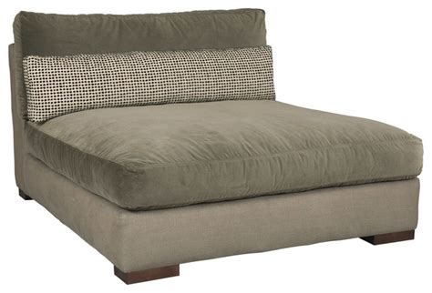 armless chaise modern indoor chaise lounge