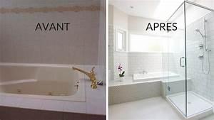 Salle De Bain Avant Après : avant apr s transformer une salle de bains quelconque ~ Mglfilm.com Idées de Décoration