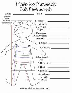 Free Printable Blank Measurement Chart For Boys  Girls  U0026 Women