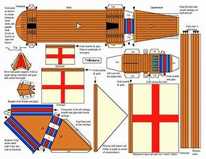 28 images of boat paper model template boatseecom for Pirate ship sails template