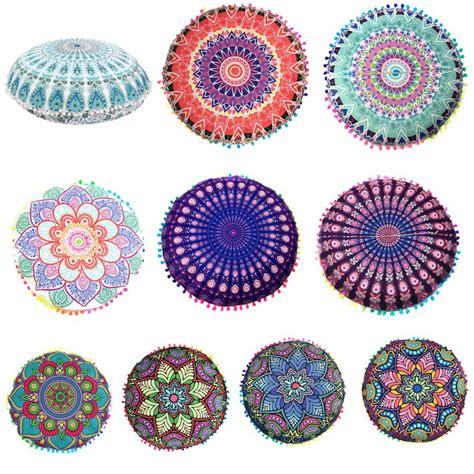 Bohemian Floor Cushions Uk by Indian Mandala Floor Pillows Bohemian Cushion