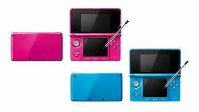 3ds Pink Nintendo Gloss Polygon Japan Launching