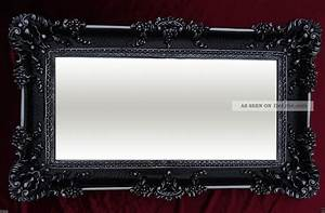 Spiegel Schwarz : xxl renaissance wandspiegel schwarz silber barock wanddeko ~ Pilothousefishingboats.com Haus und Dekorationen