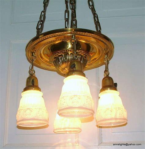 antique lighting vintage brass pan  light hanging ceiling
