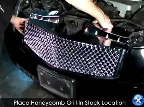 spec  honeycomb mesh grille   cadillac cts