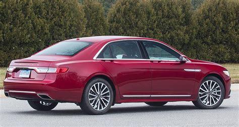 Allnew 2017 Lincoln Continental Luxury Sedan Consumer