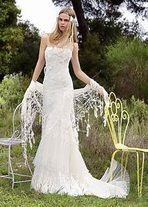 Bohemian wedding dresses for Used boho wedding dresses