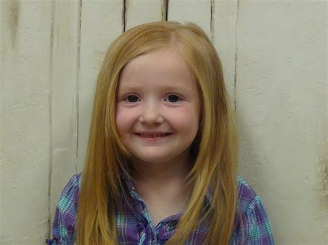 cute and simple little girls long hairstyle and more