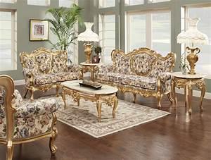 Luxury, Living, Room, Set, 633
