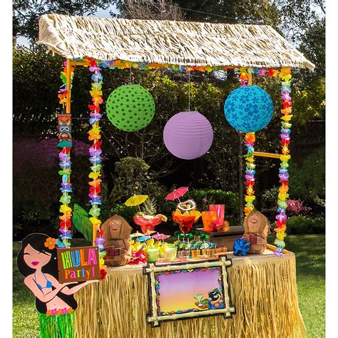Tiki Decor - tiki hut decorating kit city