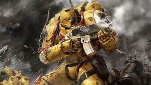 Warhammer, 40, 000, Space, Marines, Imperial, Fists, Hd