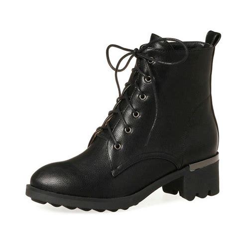fashion  vrouwen laarzen korte pluche herfst lente schoenen vierkante med hak enkellaarsjes