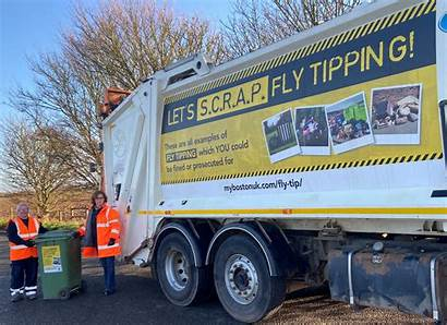 Campaign Fly Launched Lincolnshire Tipping Aims Scrap