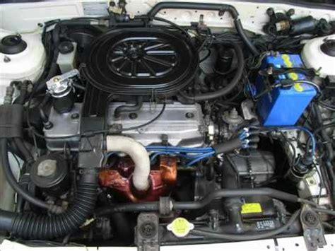 how cars engines work 1991 mazda familia engine control 86 mazda 323 e5 engine sound through soundscope youtube