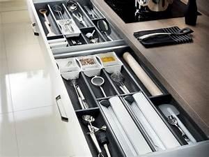 Amenagement Tiroir Cuisine : tiroir de rangement pour ustensiles de cuisine deco ~ Edinachiropracticcenter.com Idées de Décoration