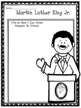 martin luther king jr free printable best of 593 | 754a340194bd7da4ab8a10b4b0e220d7 writing activities winter activities