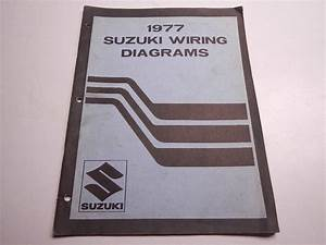 1977 Suzuki Wiring Diagrams Gs Gt Rv Ts Tc 400 750 550 125