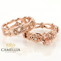morganite engagement ring reviews 14k gold morganite bridal set gold bridal set