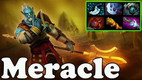 dota 2 meracle plays phantom lancer vol 2 ranked match gameplay youtube