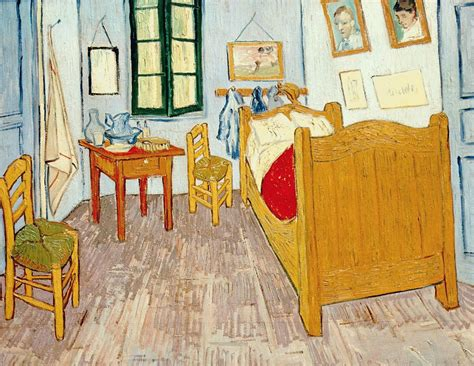chambre de gogh 1889 gogh la chambre or photo de 6tt gogh