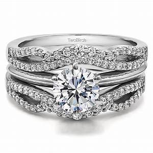 best 25 infinity wedding bands ideas on pinterest With engagement ring enhancer wedding band