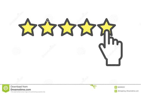 Rating Icon. Stock Vector. Illustration Of Excellence