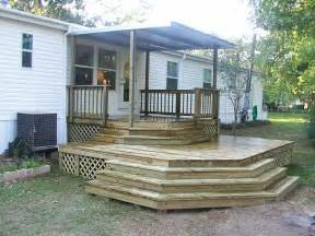 Mobile Home Deck Ideas Pictures by Modular Homes Mobile Home Decks And Other Front Porch