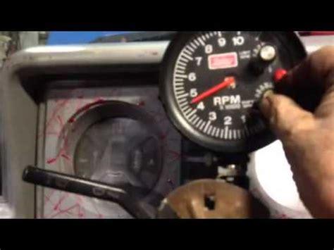 mallory tachometer  rev limiter  shift light