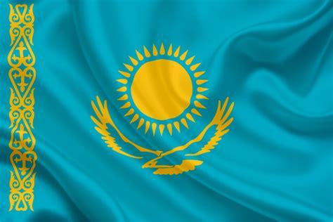 National flag of Kazakhstan