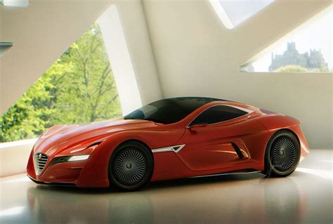 alfa romeo  gts concept diseno artcom concept cars
