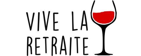 Vive La Retraite Verre De Vin Tee-shirt