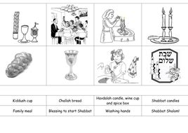 shabbat sequencing actvity  jacq teaching resources