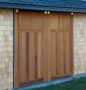Handmade Red Cedar Barn Doors by TradeCraft Custom