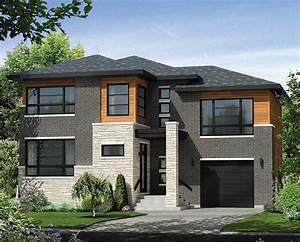 Multi-level Contemporary House Plan