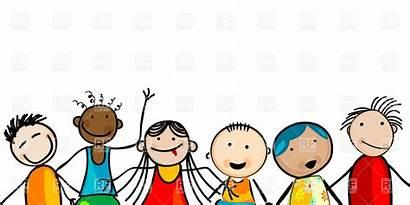 Clip Clipart Children Smiling Faces Kindergarten Kid