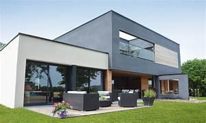 Maison En L Moderne : maisons cubiques maisons levoye ~ Melissatoandfro.com Idées de Décoration