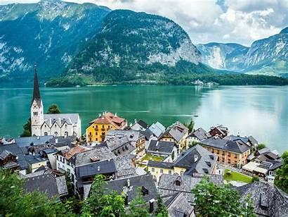 Europe Places Austria Getty Hallstatt