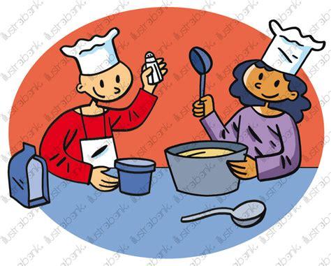 Apprendre à Cuisiner Illustration Libre De Droit Sur