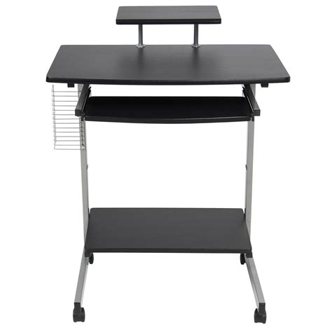 laptop desk portable workstation computer desk cart pc laptop table portable workstation
