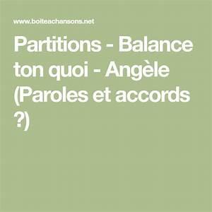Partitions - Balance Ton Quoi