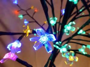 light up 1 8m 6ft multi coloured christmas blossom tree decoration with led lights uk gardens
