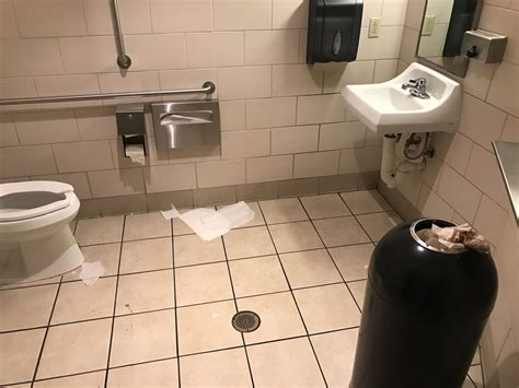 Dirty Bathroom!!! Come On Starbucks! Clean Up Your Act!  Yelp
