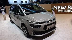 Citroën Grand C4 Spacetourer : 2018 citroen c4 grand spacetourer exterior and interior geneva motor show 2018 youtube ~ Medecine-chirurgie-esthetiques.com Avis de Voitures