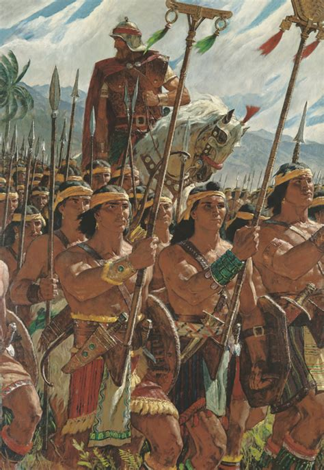 thousand young warriors  thousand stripling warriors