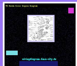 98 Honda Civic Engine Diagram  Wiring Diagram 185