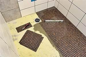 Bodengleiche Dusche Fliesen Anleitung : bodengleiche dusche selber bauen ~ Michelbontemps.com Haus und Dekorationen