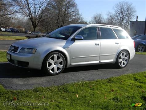 2005 Audi S4 42 Avant Wagon In Light Silver Metallic