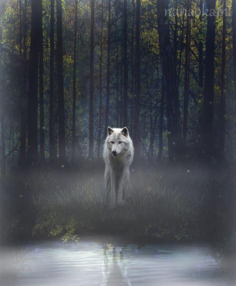the white wolf by nanaokami on deviantart
