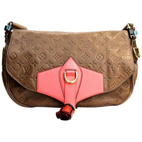 louis vuitton limited edition brown monogram underground messenger bag  sale  stdibs