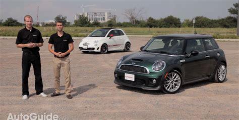 Fiat Abarth Vs Mini Cooper S by 2013 Mini Cooper S Vs 2013 Fiat 500c Abarth Comparison